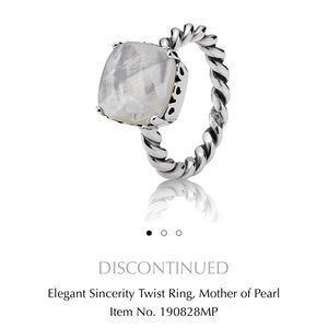 Pandora Mother Of Pearl *Discontinued*